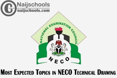 Most Expected Topics in 2021 NECO Technical Drawing SSCE & GCE | CHECK NOW