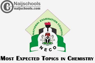Most Expected Topics in 2021 NECO Chemistry SSCE & GCE | CHECK NOW