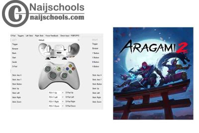 Aragemi 2 X360ce Settings for Any PC Gamepad Controller | TESTED & WORKING