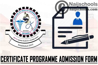 Muwanshat College of Health Science and Technology (MUCOHSAT) Certificate Programme Admission Form for 2021/2022 Academic Session | APPLY NOW