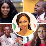 Video: Yvonne Nelson's Baby Daddy Slaps Counselor Lutterodt For Calling Yvonne A Born One Prostitute