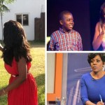 Nana Aba Anamoah son – pictures and story