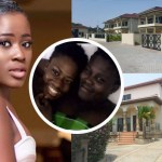 Yolo Star Fela Makafui Builds A House For Mom In Her Home Town   Checkout the photos