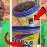 Meet the 13-year-old Ghanaian boy who has built solar device to charge his mobile phone