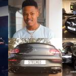 21-Year-Old Nasty C buys a brand new customized Mercedes Benz worth $55,900