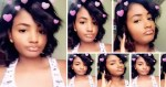 Aisha from the viral 3some s*x tape has moved on - She is more gleeful than ever (Video)