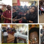 Video+Photo: Tears flow as Nana Turkson is laid to rest