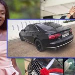 Medikal Didn't Buy the Audi A8 he gifted Fella Himself, Real Identity Of the owner Revealed (Screenshot)