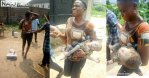 Little girl survives after being tied in a cement bag for a week by female kidnapper