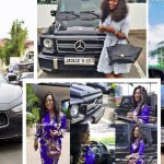 Look inside Jackie Appiah's millionaire mansion and view photos of her luxurious cars