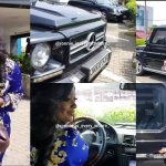 Jackie Appiah steps out with her luxurious customised G-Wagon car