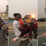 Kwesi Arthur Filmed putting his life in danger