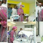 Samira Bawumia, Donates To Patients At a Hospital On 'Boxing' Day