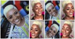 Ahoufe Patri Goes Blonde With Her Short Hair For 2019 (Photos)