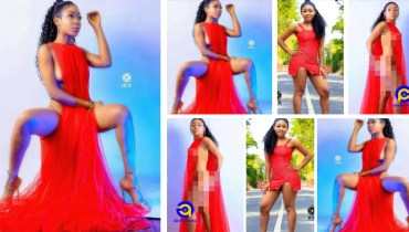 Akuapem Poloo goes nude on Val's Day