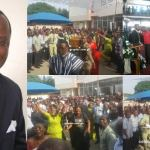 Photos from the funeral of the Murdered Tema Assemblies of God Pastor
