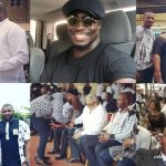 Photos & video as Ghanaian celebrities attend funeral of Stephen Appiah's mother
