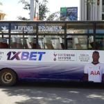 UK High Commissioner to Kenya Praises 1xBet Tottenham Matatu Ad