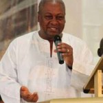 When the wicked rules, the people suffer – John Mahama Preaches In Church