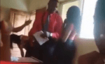 Video: See The Hilarious Moment A Lecturer Punished Her Student By Asking Him To SING For The Class