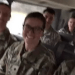 Video: US Military Men Jam On Fameye's 'Nothing I Get' Song Whiles Driving To Camp