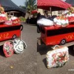 VVIP bus driver who died in Kintampo accident was buried today in VVIP Bus coffin