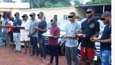 """Busted: 37 """"Yahoo Boy"""" Arrested By EFCC In Imo State [PHOTO]"""
