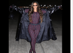 Checkout: Beyonce Shares Stunning Photos Of Her Stylish Look To The NBA Game In Houston