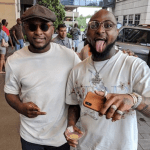 Checkout Davido And Ubi Franklin Hangout Photos In Houston