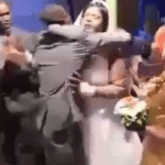 Checkout How A Groom Drags His Best Man Away From His Wife, Beat Him Mercilessly For Hugging Her Tightly [Video]