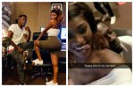 Shatta Wale reacts after Wendy Shay performed Stevie Wonder song for the first time