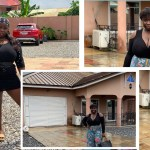 Kumawood's Maame Serwaa causes stir with new photos from house with latest Benz
