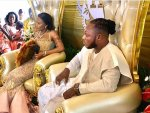 Photos: Keche Dump's Baby Mama with 2kids tie's the knot with a rich woman