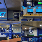 Sports Betting Company 1XBET Finally Opens Its First Betting Shop At Mallam Junction