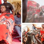 Kwadwo Safo Kantanka Jnr Enstooled As Chief- Photos