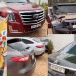 Benz Maybach, Jeep Wrangler, Ferrari, Escalade, etc- Chairman Wontumi shows off his luxurious cars in his mansion