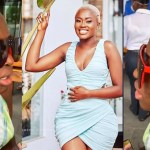 Fella Makafui's face without makeup looks like sandpaper (photo)