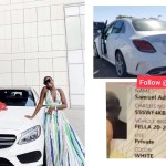 AMG Business hater exposes Medikal on his car gift to Fella Makafui with prove