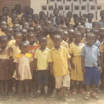 Teacher Kwadwo Buys New School Uniform For Nkoransa D/A Primary Pupils