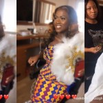 First video of Fella Makafui in her traditional marriage attire