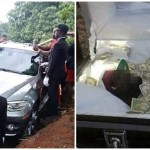 Nigerian Billionaire buries his father inside a BMW X6 SUV