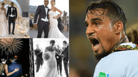 Kevin Prince Boateng 'breaks the internet' by posting his wedding pictures