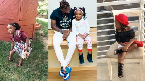 Meet the Beautiful Daughter of Black Stars Player, Harrison Afful