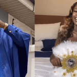 Fella Makafui's Love For Medikal Is Magical, Watch How She Proves She Doesn't Love Him Because Of Money