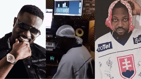 Sarkodie Goes Crazy For Yaa Pono's New Song '1997' After Sharing A Video Of His Studio Session