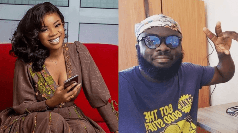 Serwaa Amihere Looses Her Cool And Blocks Kwadwo Sheldon After A Banter On Social Media