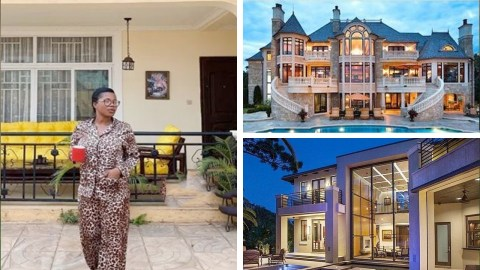 MzBel shows off her multi-million mansion