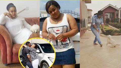 Photos: Kumawood actress, Vivian Jill Lawrence shows off her cars, house, and other property