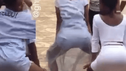 Video of Free SHS Girls doing tw333rking competition goes viral online