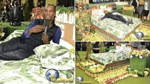 Pastor visits Heaven, takes pictures to show church members (photos)
